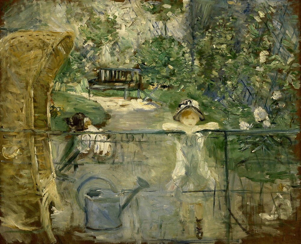The Basket Chair by Berthe Morisot by classicartcache