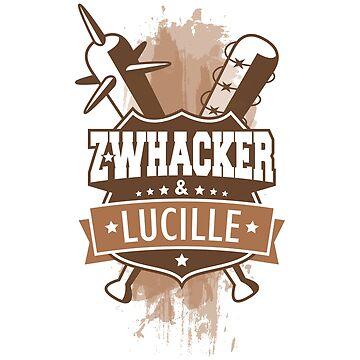 Z-Whacker & Lucille. Sepia by medibu