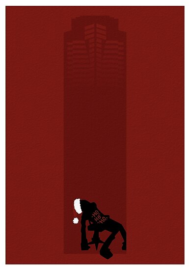 Minimalist Movies - Die Hard by Twoodle