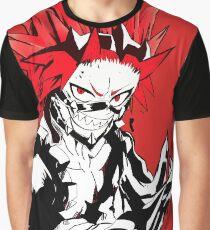 rote Krawalle Grafik T-Shirt