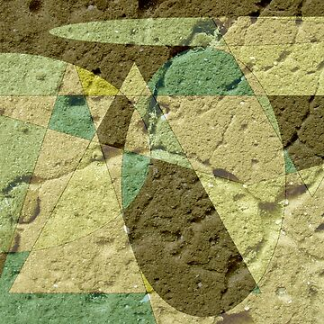 Green Textures in Geometrical Shapes by Jessielee72