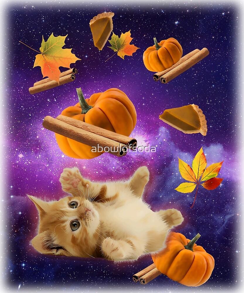 Pumpkin Spice Cat Meme by abowlofsoda