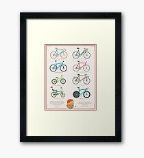 Bicycle Season Framed Print