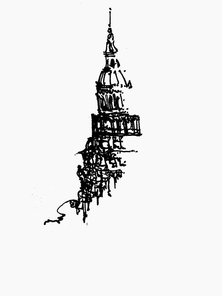 Capitol Building Sketch by jeremyfloyd