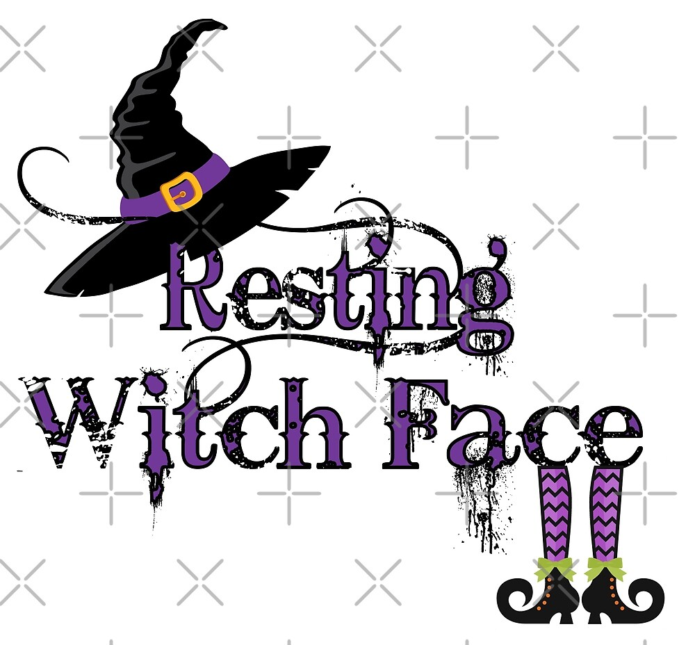 Resting Witch Face by Marina Smith