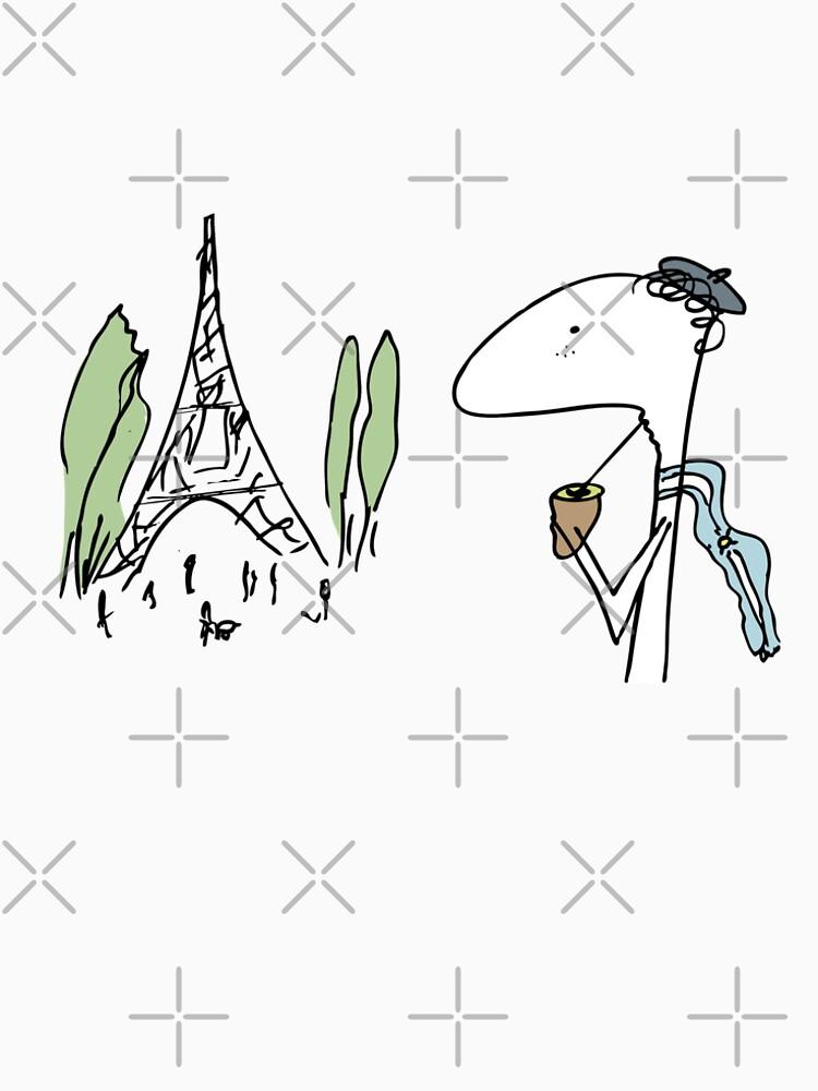 Argentine in Paris by CHOPER