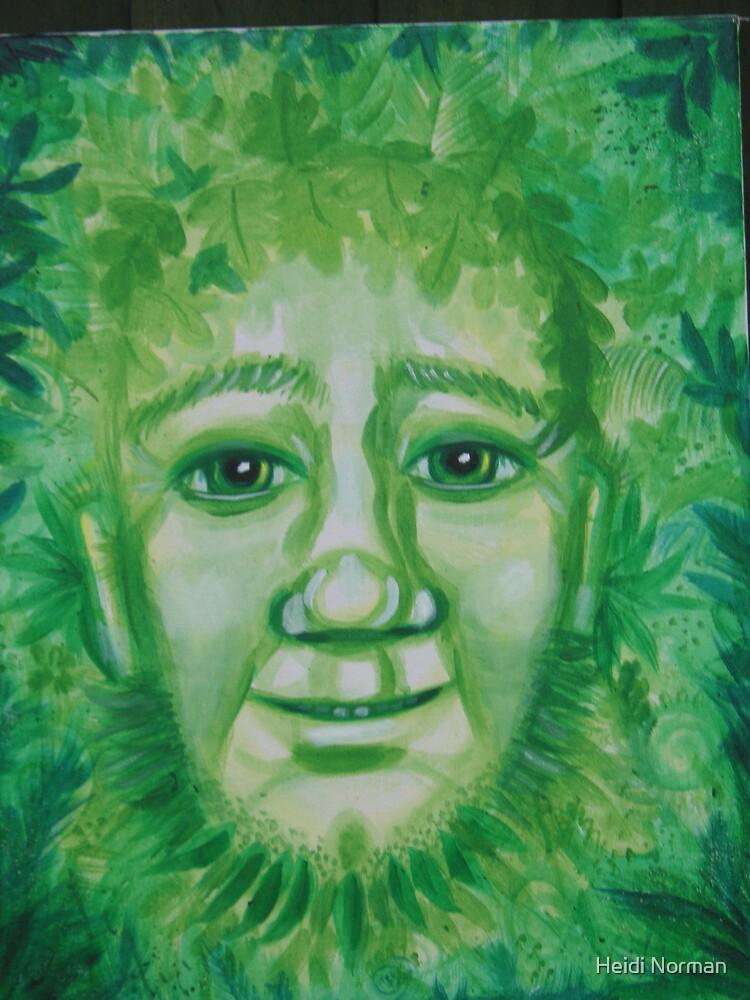 Greenman by Heidi Norman
