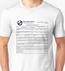 Ghostbusters Application T-Shirt