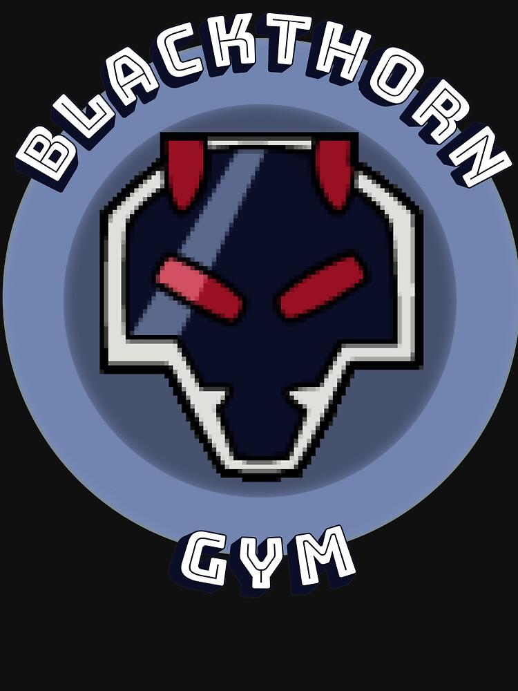 Blackthorn Gym - Pokemon-Inspired by dare121
