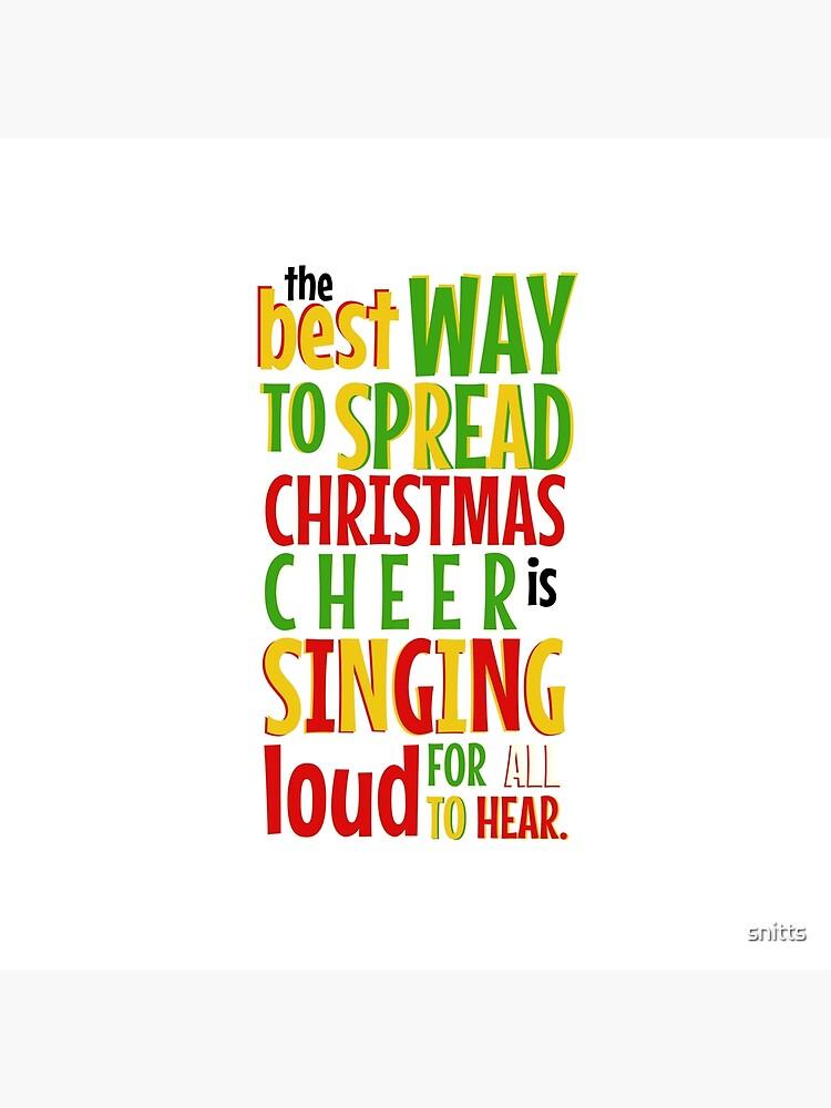 Der beste Weg, Weihnachten Cheer zu verbreiten ... von snitts