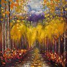 Uncompahgre National Forest Malerei von OLena  Art ❣️