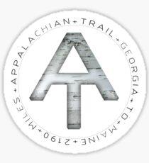 Birch + The Appalachian Trail  Sticker