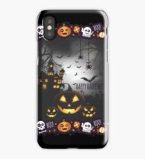 Print Holloween - Bad Pumpkin - Witch Castle iPhone Case/Skin