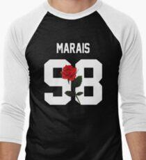 Jonah Marais - Rose Men's Baseball ¾ T-Shirt