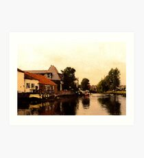 Norfolk Art Print