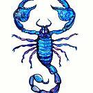 Blue Scorpion  by Linda Callaghan