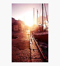 Sidewalk Singalong Photographic Print