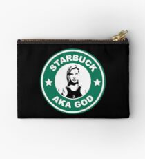 Starbuck is my god Studio Pouch