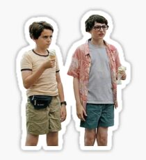 reddie (richie and eddie) ice cream sticker Sticker