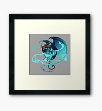 Keeper Of The Dice Framed Print