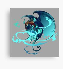 Keeper Of The Dice Canvas Print