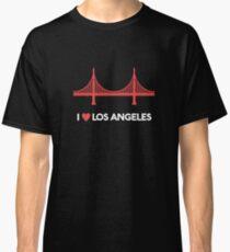 I Heart Los Angeles Golden Gate Bridge - Joke T-Shirt  Classic T-Shirt