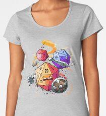 Dice Warriors Women's Premium T-Shirt