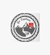 This Bike Got Wings - East Peak Apparel - Go Explore Art Board