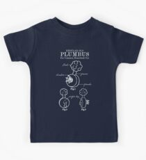 Plumbus Blueprint Kids Tee