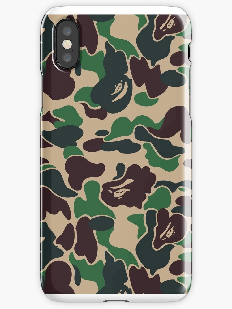 bape iphone 5 case quot bape quot iphone cases amp covers by ratedkendra redbubble 13546