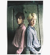Taehyung and Jin Poster
