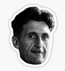 George Orwell Face 01 Sticker