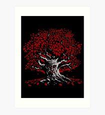 Winterfell Weirwood Art Print