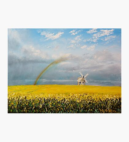 Chesterton Windmill Photographic Print