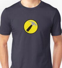 Captain Hammer (outlined) Unisex T-Shirt