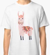Cute Lama Sticker Classic T-Shirt