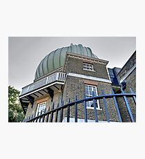 Greenwich Observatory Photographic Print