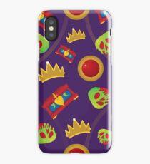 Evil Queen Icons iPhone Case