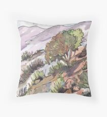Winter in Kromdraai Throw Pillow