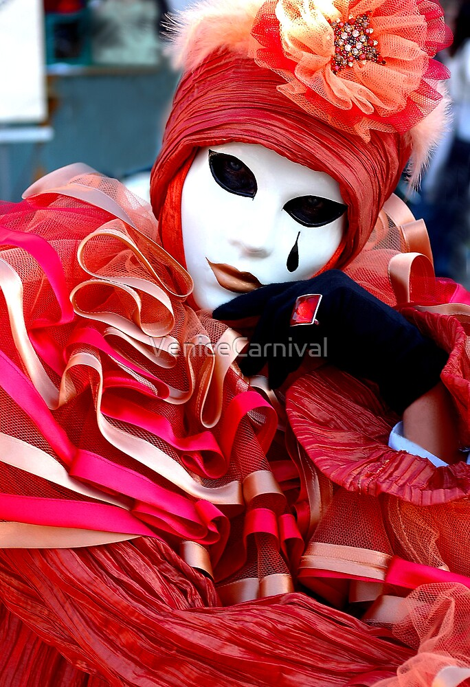 Red Jester  by VeniceCarnival