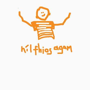 nil fhios agam - i don't know by eejitdesign