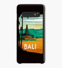 BALI : Vintage Travel and Tourism Advertising Print Case/Skin for Samsung Galaxy