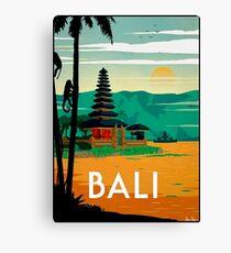 BALI : Vintage Travel and Tourism Advertising Print Canvas Print