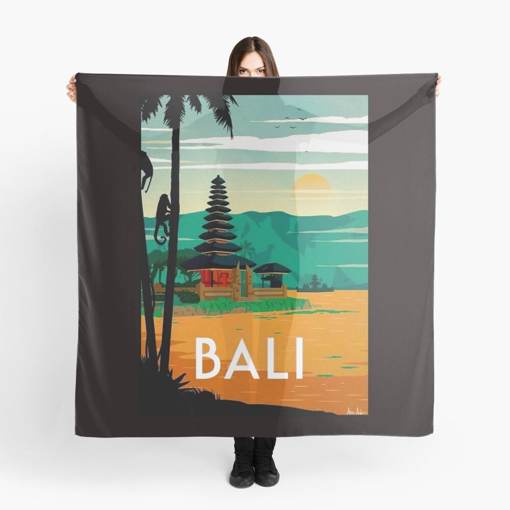 BALI: Publicidad publicitaria de viajes y turismo vintage Pañuelo