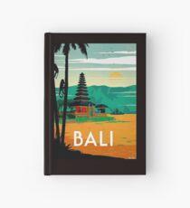 BALI: Vintage Reise- und Tourismuswerbung Print Notizbuch