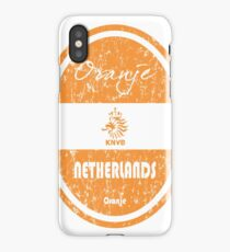 Football - Netherlands (Distressed) iPhone Case/Skin