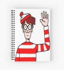 Where's Waldo  Spiral Notebook