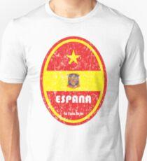 Football - Spain (Distressed) T-Shirt