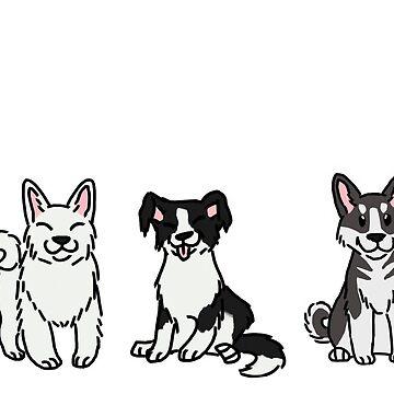 Dogs by zoe-wilson