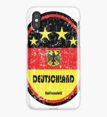 Football - Germany (Distressed) iPhone Case/Skin
